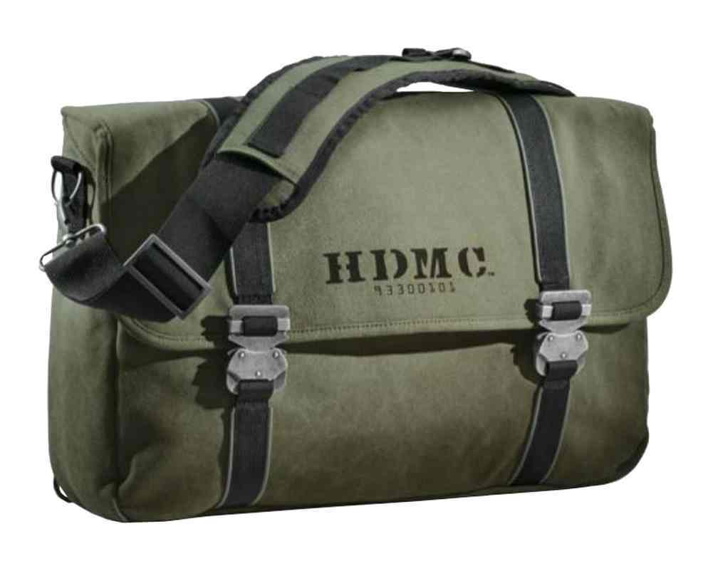 HDMC MESSENGER BAG – ARMY GREE