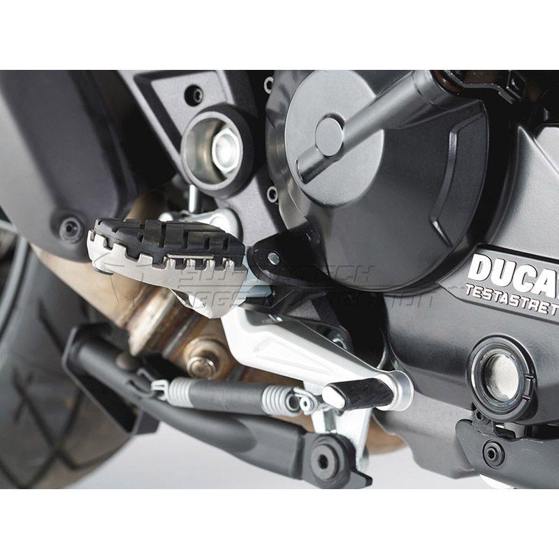 SW-Motech jalkatappisarja, Ducati Multistrada 1200