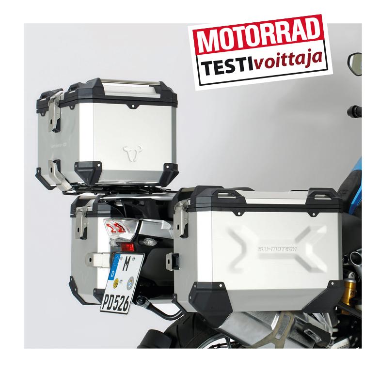 SW-Motech Trax ADV laukut testivoittoon!!