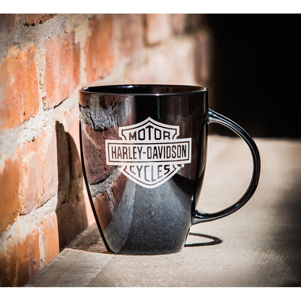 H-D Evergreen – kahvikuppi Musta