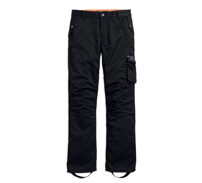 Harley-Davidson Mens Black Cargo Riding Trouser