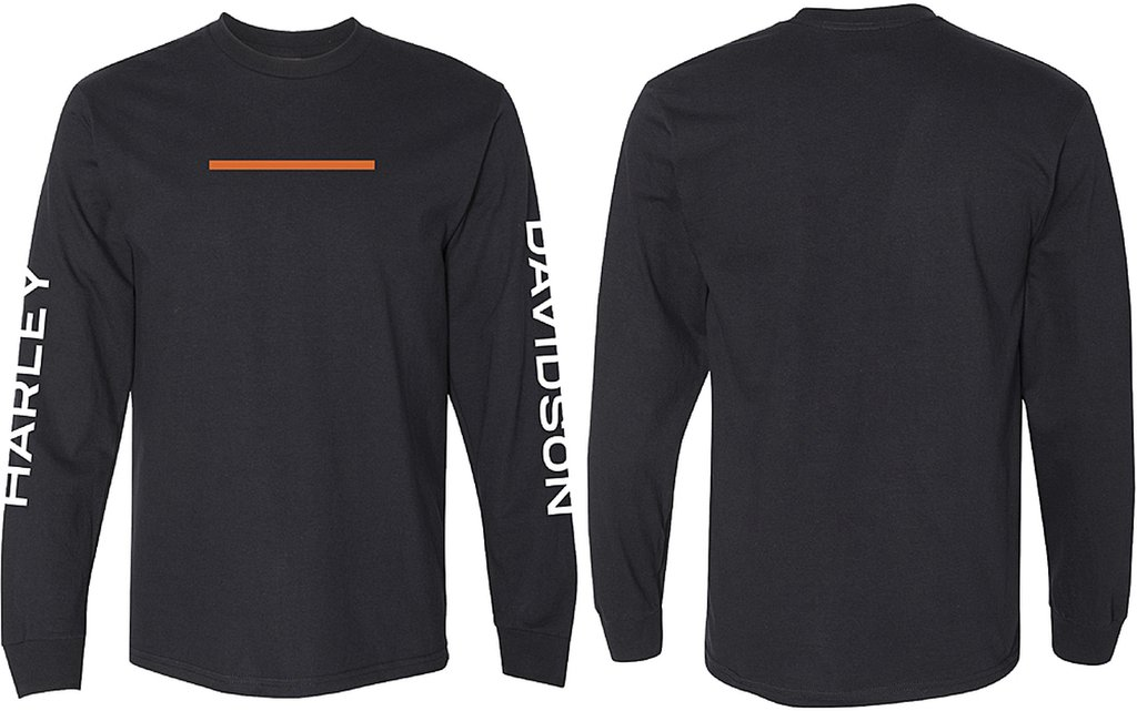 Harley-Davidson Men's Hyphen Long Sleeve Tee