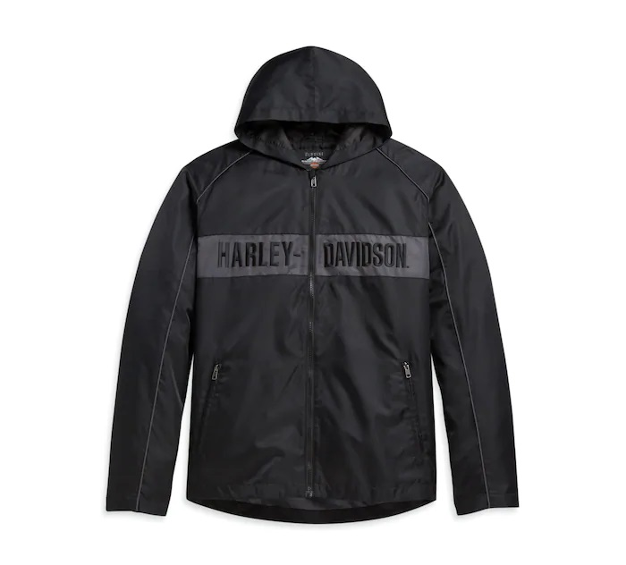 Harley-Davidson Men's Hooded Stripe Jacket