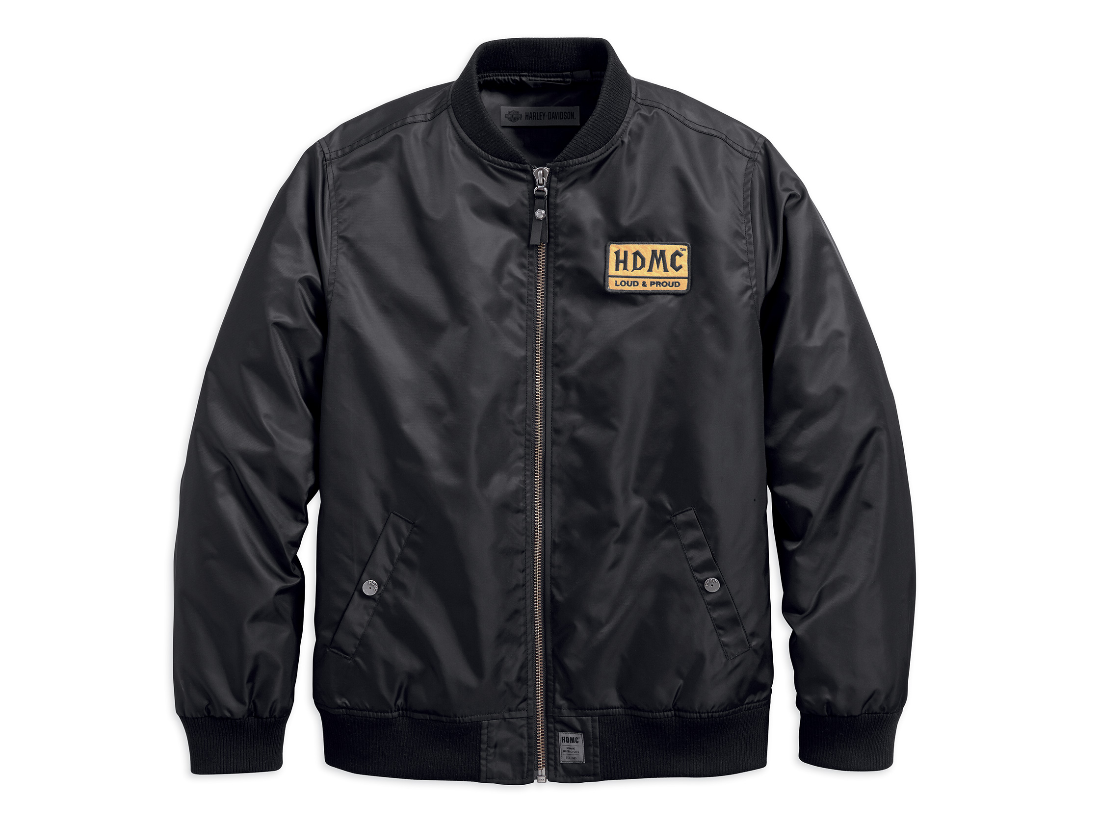 Harley-Davidson HDMC Patch Slim Fit Bomber Jacket