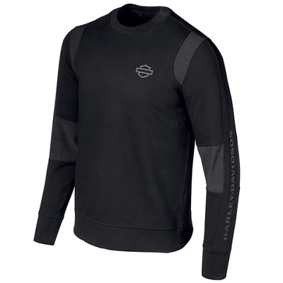 Harley-Davidson Men's Double Weave Accent Pullover