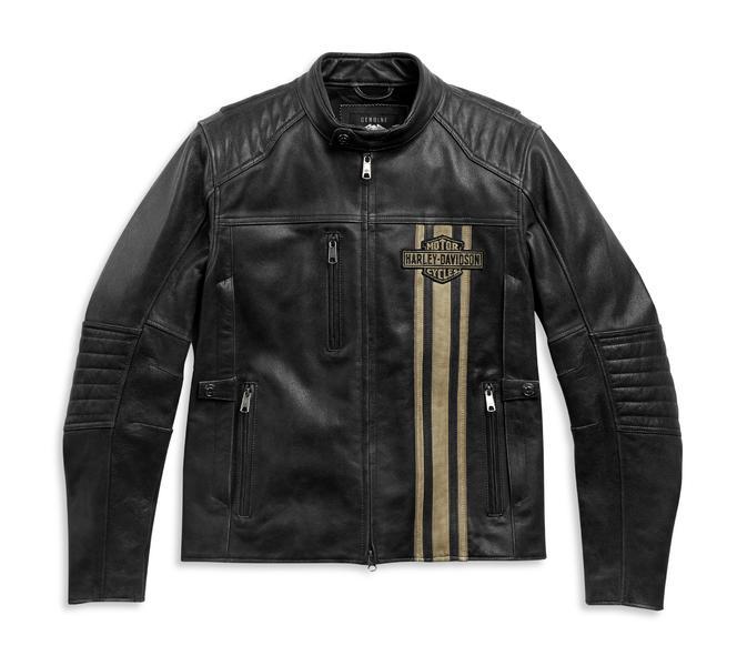 Harley-Davidson Men's H-D™ Triple Vent Passing Link II Leather Jacket