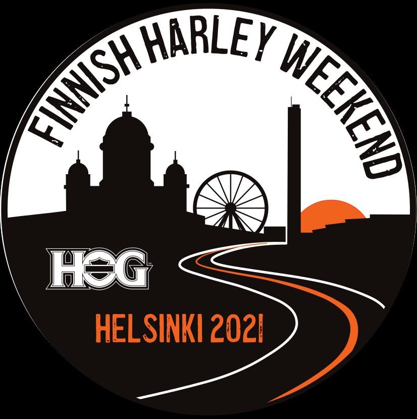 Finnish Harley Weekend ticket/pääsylippu